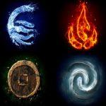 Influencia de los 4 elementos en los signos zodiacales