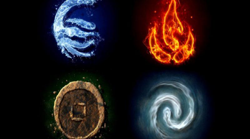 elementos en los signos zodiacales